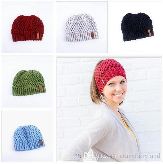 Großhandel Mode Aushöhlen Slouchy Caps Winter Beanie Mädchen Cap Für ...