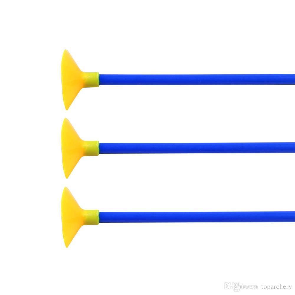 23 '' الشباب أطفال الأطفال مصاصة السهام الآمن الرماية الصيد استبدال الالتصاق السهم ل outdoor حديقة outdoor متعة لعبة لعبة هدية