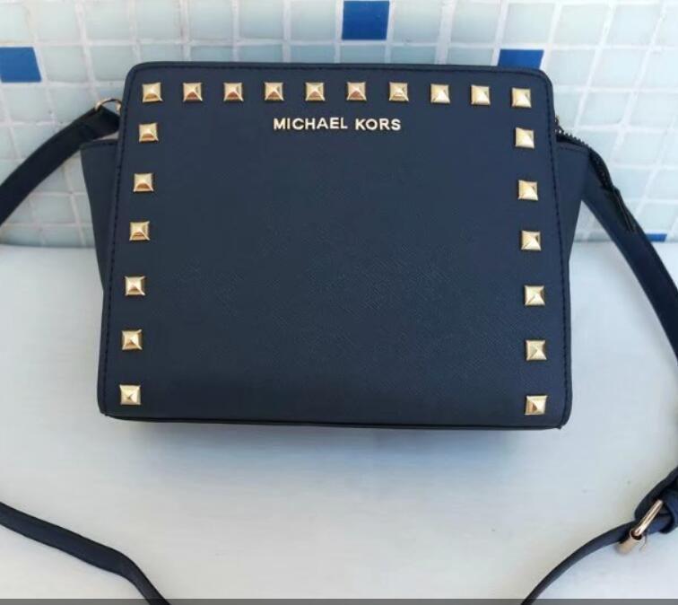 337116e19105 Michael Kors women Brand M K Bag Luxury Leather Handbags Shell Thread  Ladies Clutch Designer Bag Sac A Main Femme Bolsas Women Tote Purse