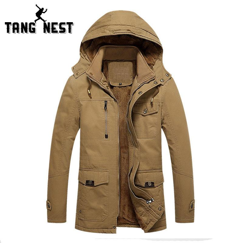 Con Tangnest Casual 2018 Capucha Business Trench De Compre Coat Yq1zO1x