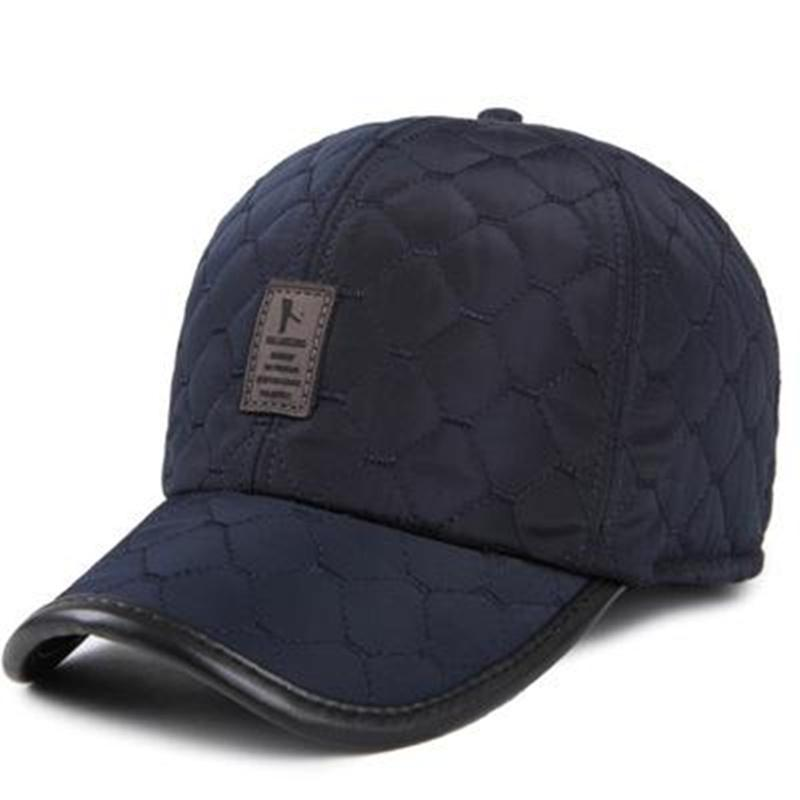 bbf0a988788 VORON New Warm Winter Baseball Cap Men Ear Protection Gorro Hats Brand  Snapbak Solid Bone Baseball Cap Men Winter Warm For Newsboy Cap Trucker Hat  From ...
