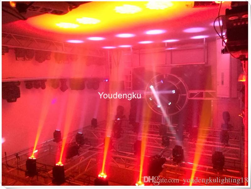 LED 90W gobo spot movinghead and 9x18W 6in1 RGBWA+UV wash 2in1 moving head led stage light