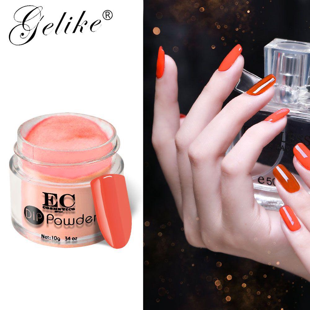 10g Dip Powder Acrylic Nails Gel Polish Colorful Designs Natural