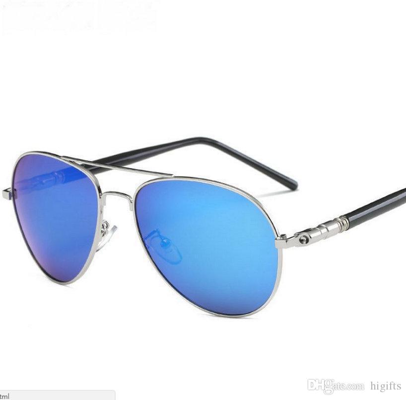 fed946e1da43 Brand Designer Polarized Sunglasses Classic Cycling Retro Sun Glasses For  Men Driving Glasses UV400 Metal Frame Polaroid Lenses Glasses Frames Glasses  ...