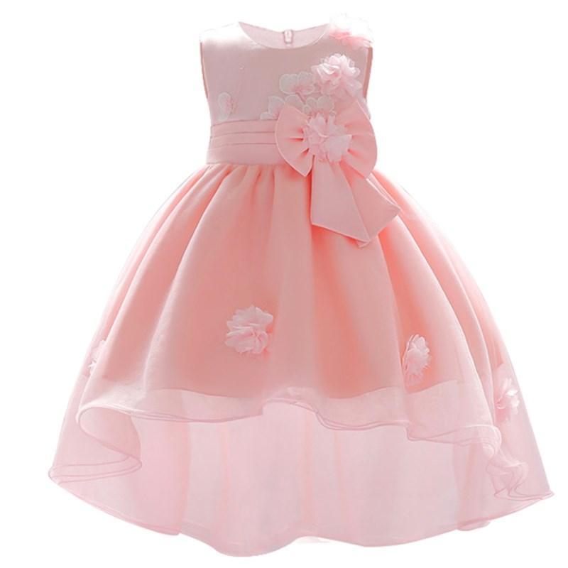 0fc9f802a Compre Bebê Recém Nascido Vestido Para 1 Ano De Festa De Aniversário Vestido  Infantil Da Criança Do Bebê Flor Vestidos 0 2 Anos Crianças Meninas Roupas  De ...