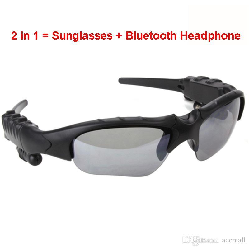 Sports Sunglasses Wireless Bluetooth Headset Earphone Bluetooth V4.1  Headphones Sun Glasses Polarized Driving MP3 Player Smart Phone Vr Smart  Ora Smart ... c9db5b9ee5