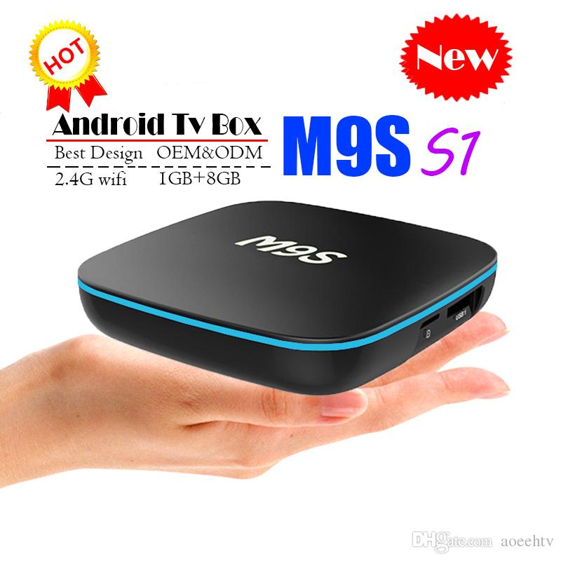 Best M9S S1 Allwinner H3 1G 8G Android 7 1 TV BOX Quad Core Ultra HD H 265  4K Stream Media Player Better Amlogic S905W X96 mini S912