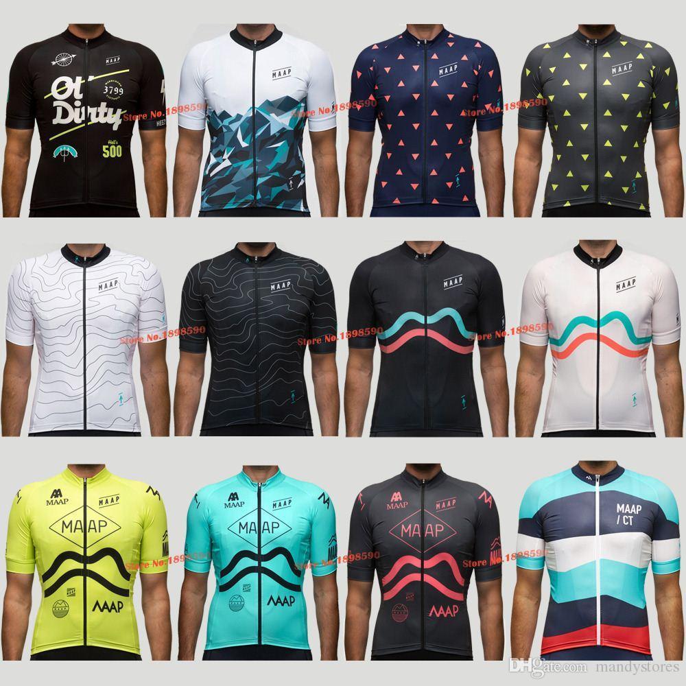 New 2018 MAAP RACING Team Pro Cycling Jersey   Cycling Clothing   MTB    ROAD Bike Clothing Cycle Jacket Bib Short From Mandystores 00e554e18