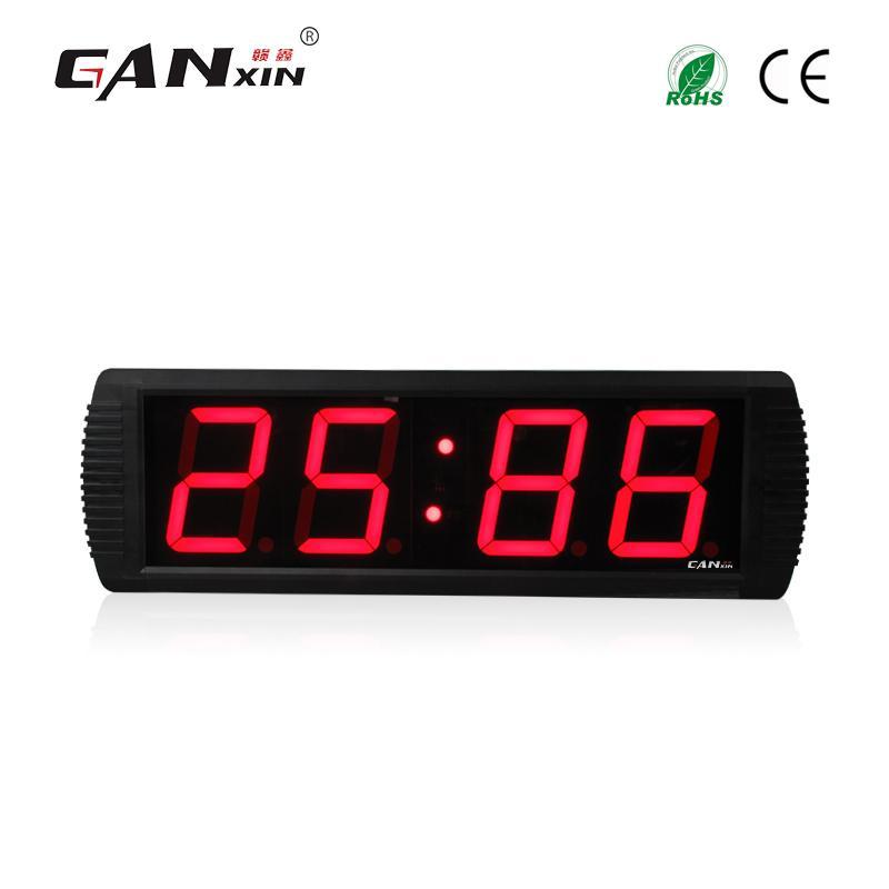 2a3dc1241a2d Compre Ganxin 4    Led Despertador Digital Led Reloj De Pared Decoración  Para El Hogar A  354.58 Del Homegarden