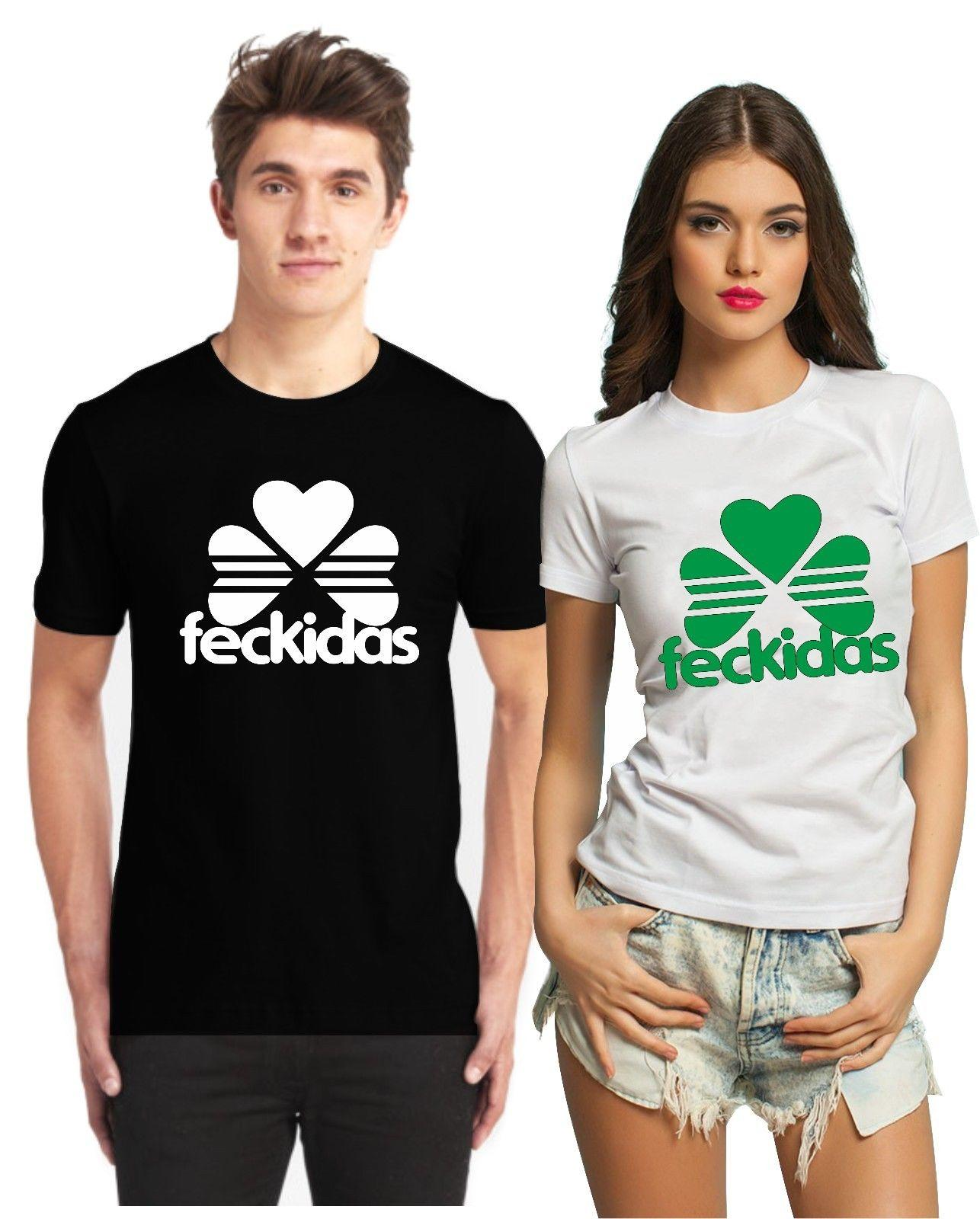 b7ad51081 Feckidas Patrick's Irish Paddy Ireland Merchandise Funny St Patricks Day T  Shirt Cool Casual pride t shirt men