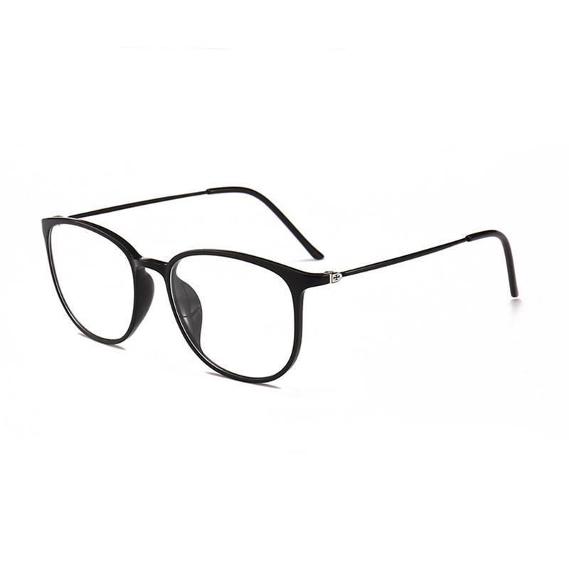 san francisco 5a263 b8df6 Mincl / Retro occhiali da vista in plastica con montatura in acciaio per  occhiali da vista uomini e donne quadrati miopia graduata occhiali graduati  ...