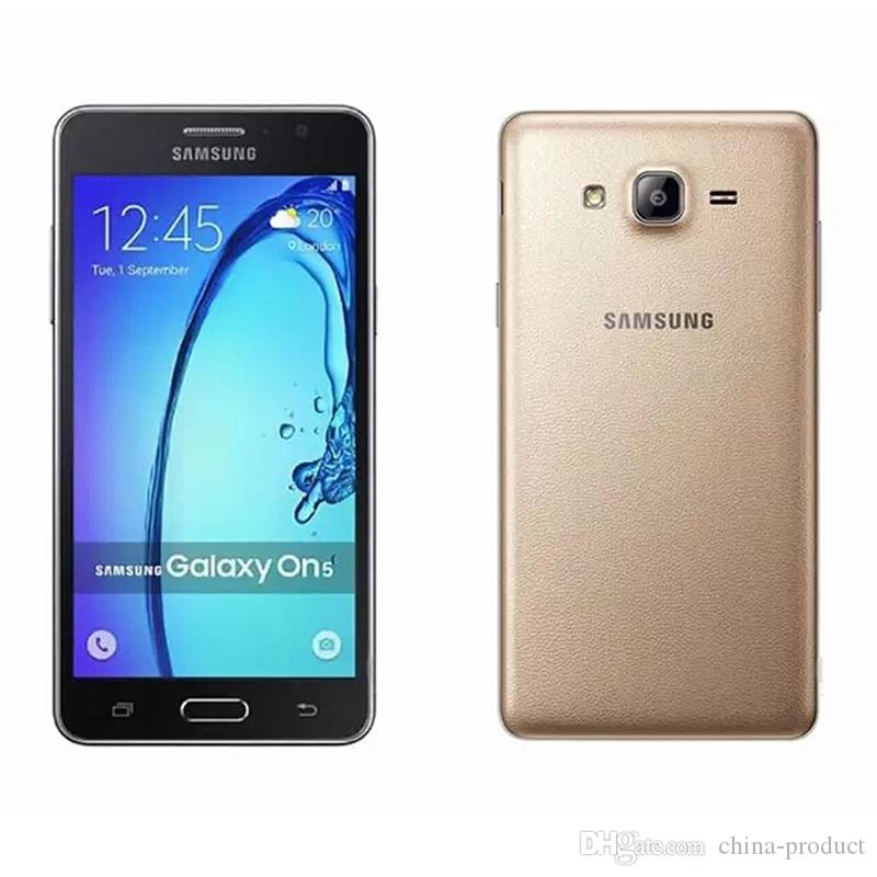 Refurbished Original Samsung Galaxy On5 G5500 G550T Smart Phone 5.0inch Quad Core 1.5GB RAM 8GB ROM Mobile Phone 4G Dual SIM