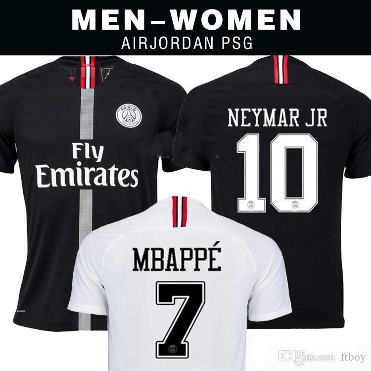 2018 2019 PSG Third Maillot MBAPPE Soccer Jersey CAVANI VERRATTI Top ... b268129d4