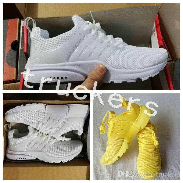 Wholesale 2018 Air PRESTO BR QS 5 Running Shoes Men Women Prestos Ultra BR QS Yellow Pink Oreo Outdoor Fashion Jogging Sneakers Shoes sale 2014 new ld4dreQ