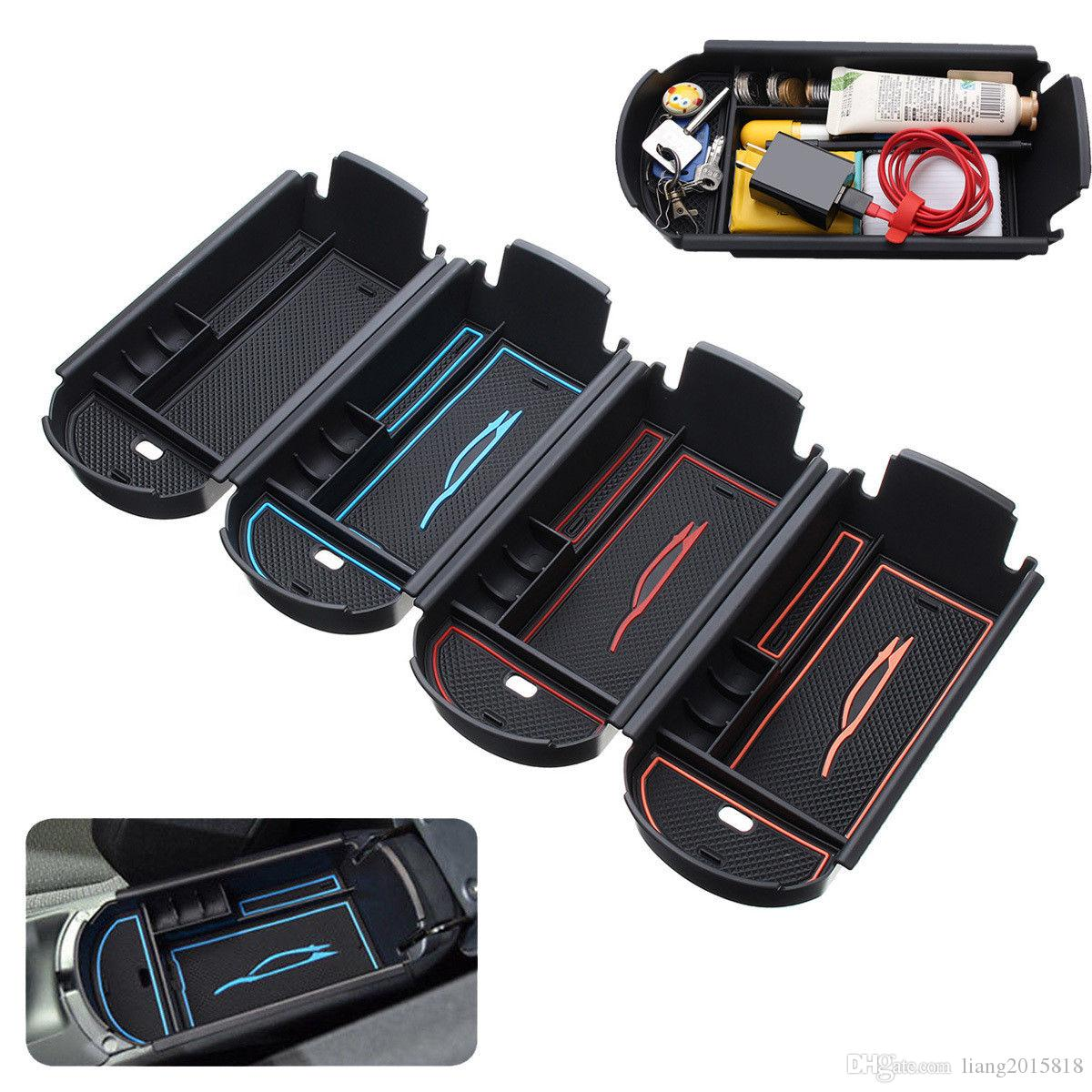 New Car Center Console Organizer Auto Armrest Box Seat Side Storage
