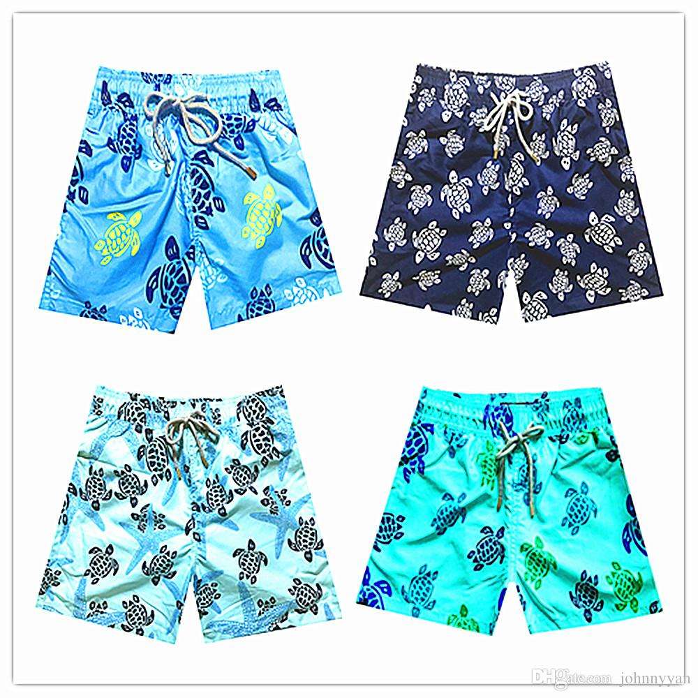 dee9ae2102 2019 Kids Size 8 10 12 14 16 Years Brand Board Shorts Turtle Printed  Boardshort Quick Dry Youth Beach Shorts Swimwear Boys GlowSwimsuit From  Johnnyyan, ...