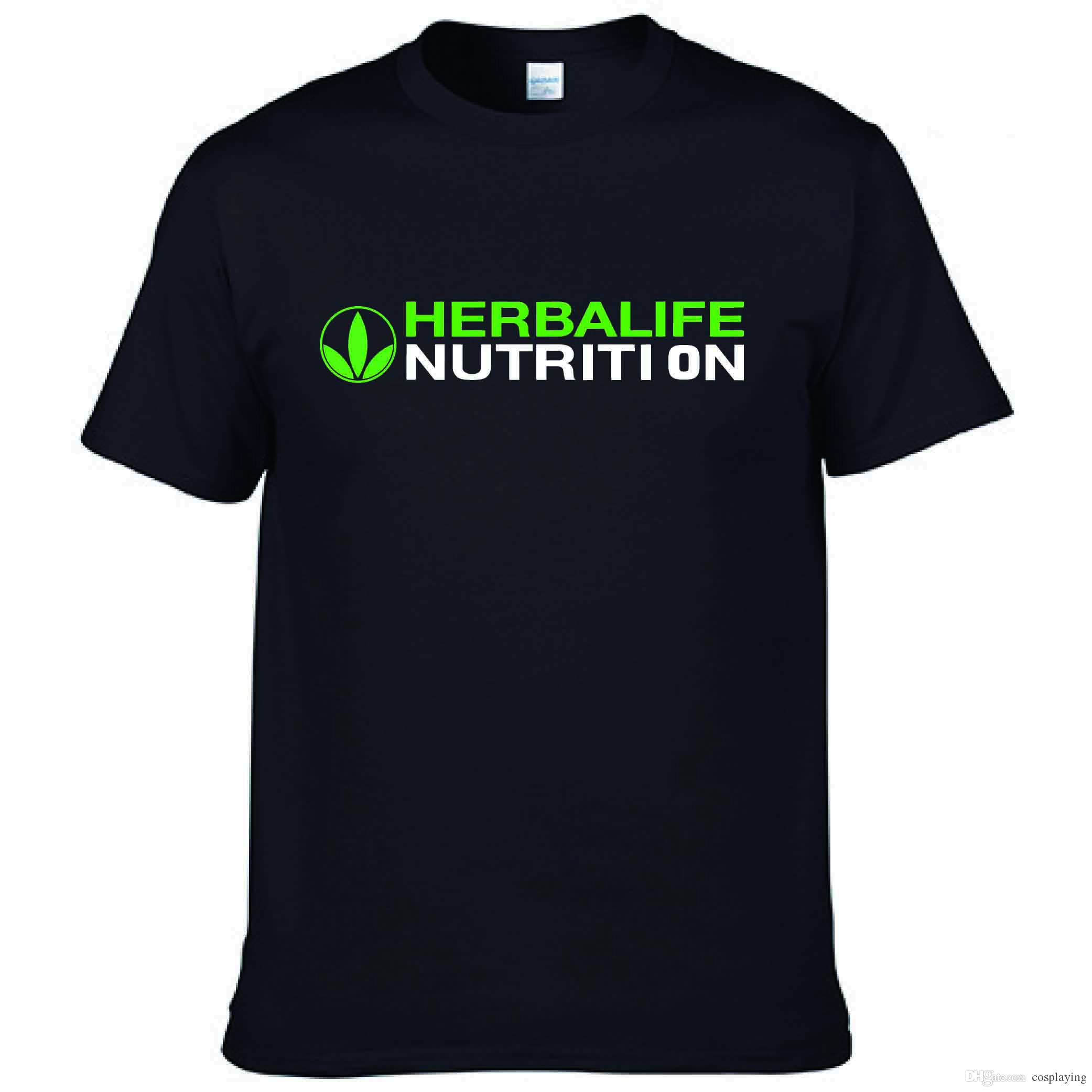 82d5a6bf Herbalife Nutrition T Shirt Fashion Brand Letter Printing Short Sleeved  Shirt Cotton Fit Round Neck Large Size T Shirt Summer New Fun Tee Shirt  Shop Online ...
