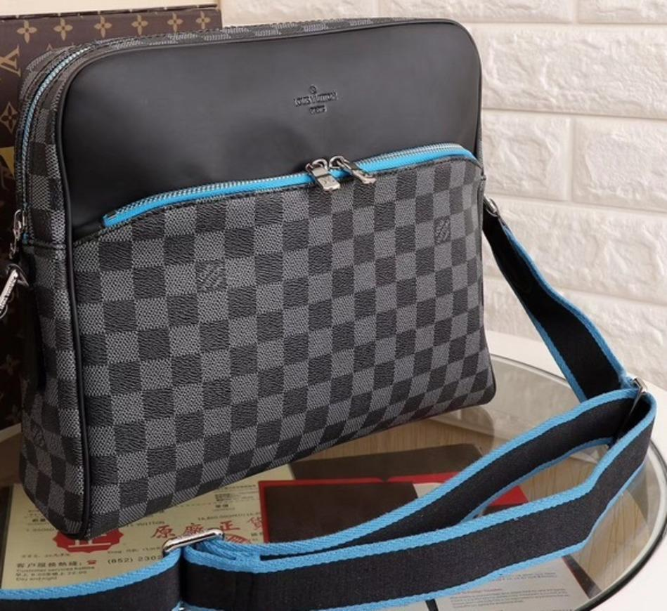 2018 Brand Classic Luxury Business Men Shoulder Bags Casual Genuine ... cc5863b185