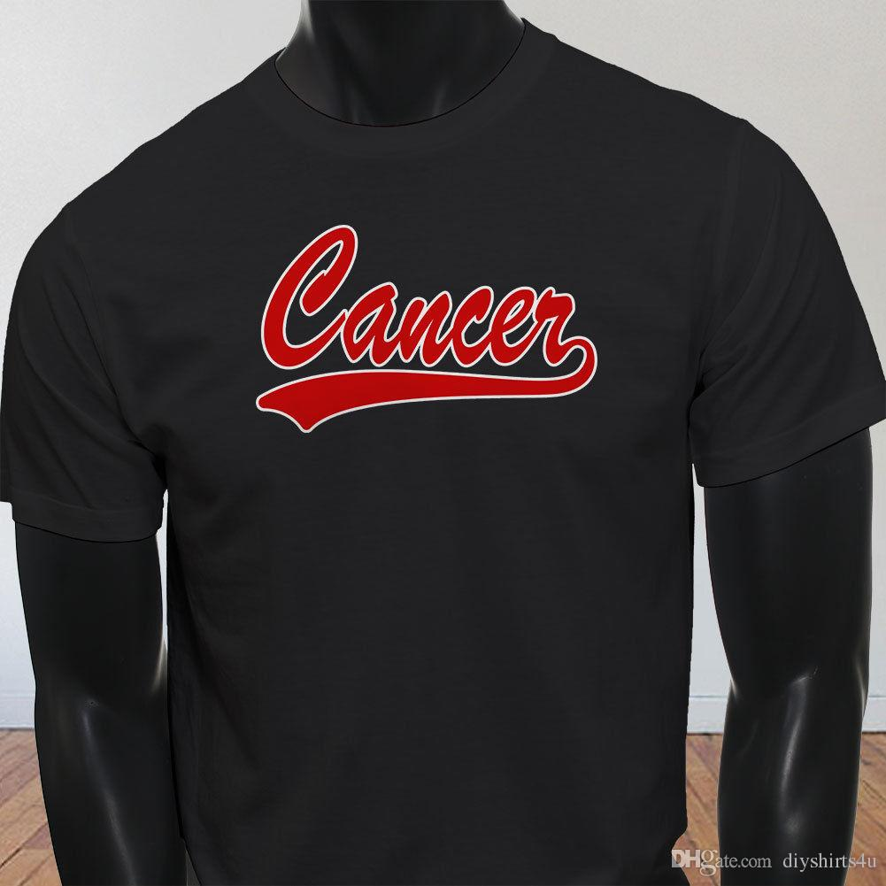 Cancer Athletic Zodiac June July Birthday Gift Mens Black T Shirt Men Boy Design White Short Sleeve Custom XXXL Team Shirts Weird