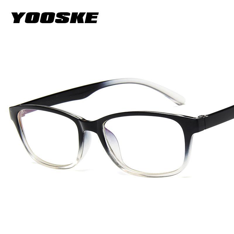 2018 YOOSKE Clear Lens Optical Glasses Frame Women 2018 Eyeglasses ...