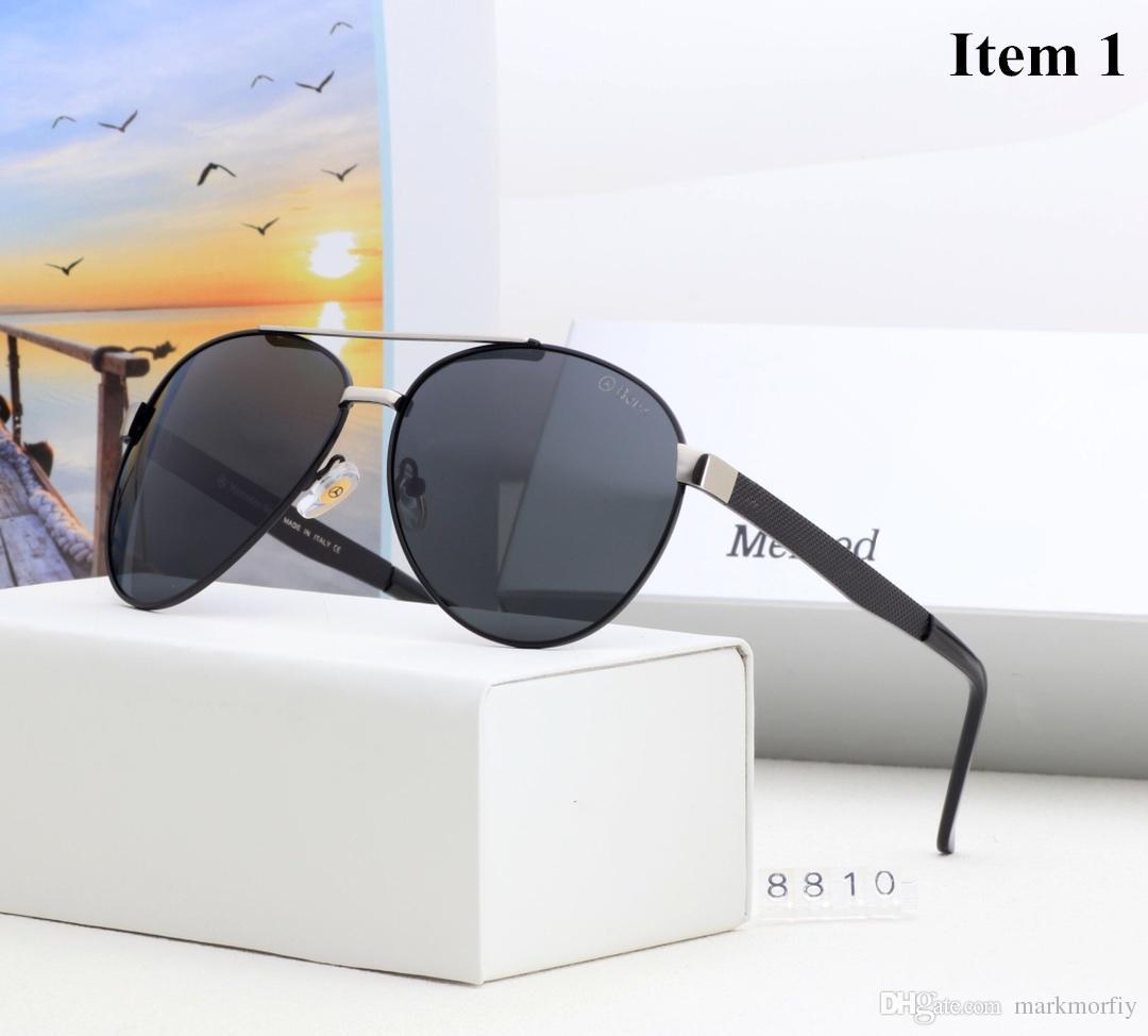 f59cf992d42 New Design Aluminum Magnesium Men s Sunglasses Polarized Coating ...