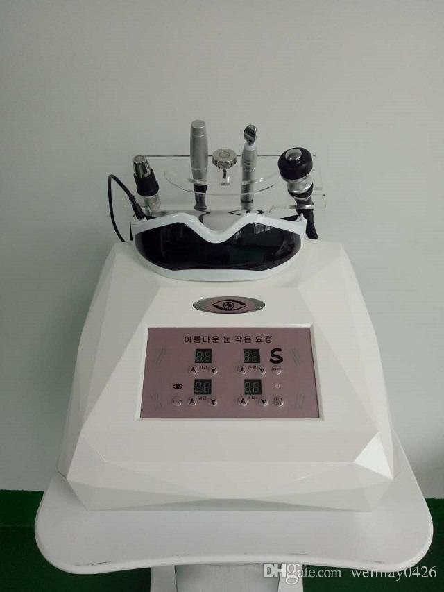 bipolar RF yüz germe makinesi rf yüz germe göz bakımı yüz masajı vibratör