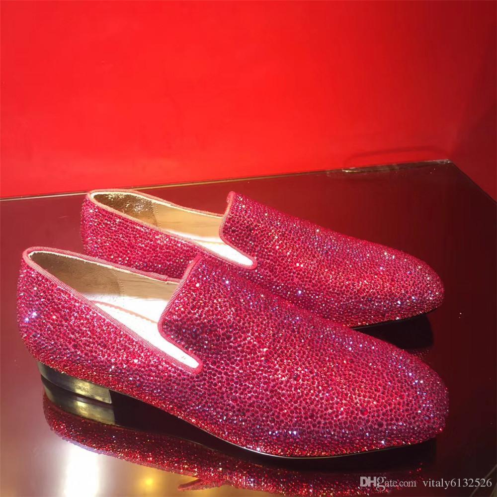 Big Size 38 47 Slip On Dress Loafers