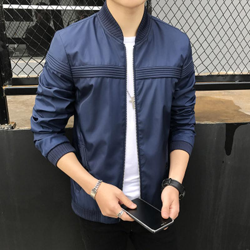 High Quality Men S Jacket Thin Brand Clothing 2018 Spring Autumn Korea Style  Outwear Coat Plus Size 4XL Womens Jackets Winter Jacket From Dragontai db0745e0c95a