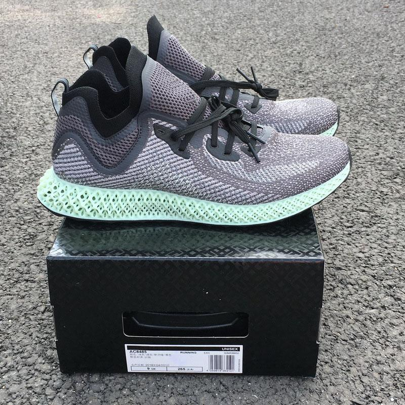 new arrival 308a9 c60cd 2018 Best Futurecraft AlphaEdge 4D LTD Aero Ash Green Core Black Running  Shoes Man Women High-Performing Authentic Sneakers AC8485 With Box Aero  Green Shoes ...