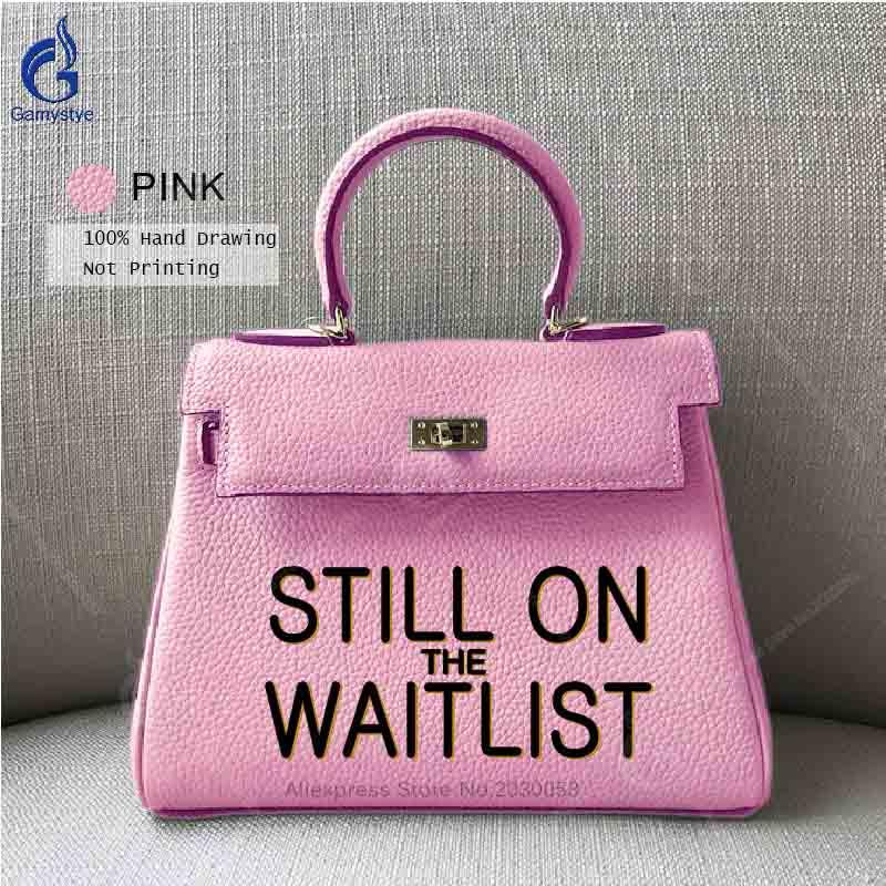 ea5dc2af80 Gamystye Genuine Leather Handbag Luxury Handbags Women Bags Designer ...
