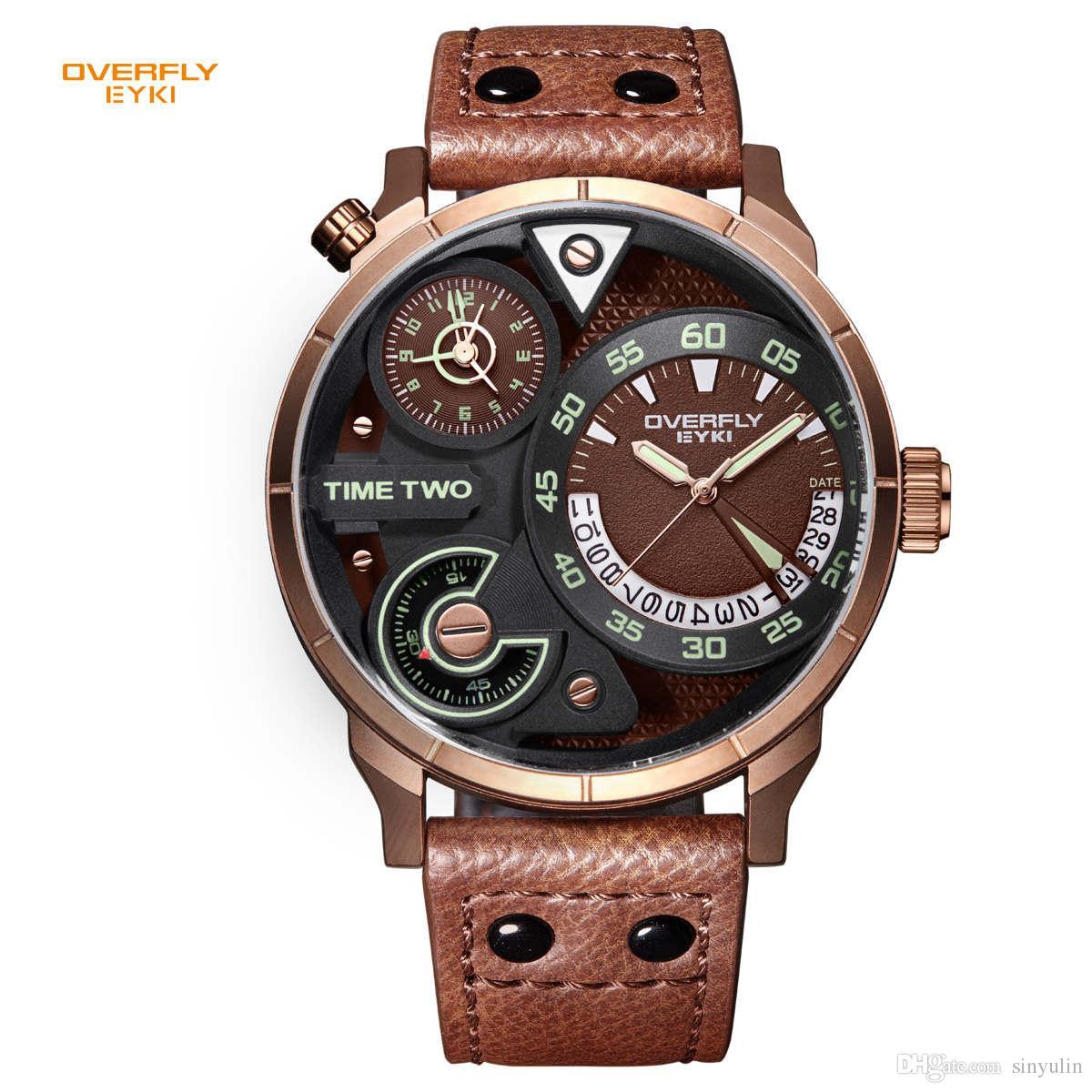 18dda02298b Big Watches Men Luxury Watch Men Brand Quartz Watch Outdoor Dress  Wristwatches Military Watch Relogios Masculinos Watch Shopping Best Deals  On Watches From ...