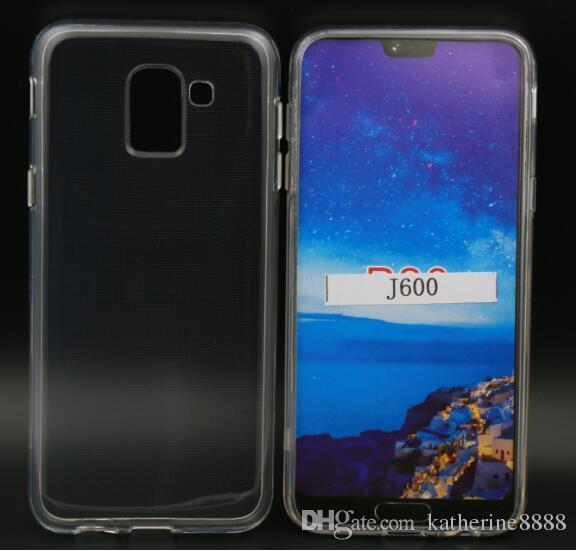 sale retailer c5d27 d5684 Case For Samsung Galaxy J6 2018 J600 New Clear Transparent Soft TPU Case  Cover For Samsung Galaxy J6 2018 Clear Cover J600