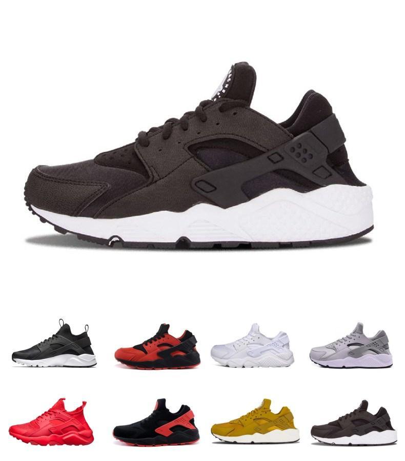 ca74cbaacd995 Satın Al İndirim Huarache Ultra Run Ayakkabı Üçlü Beyaz Siyah Erkekler  Kadınlar Koşu Ayakkabı Kırmızı Gri Huaraches Atletik Spor Ayakkabı Sneakers  Us ... ...