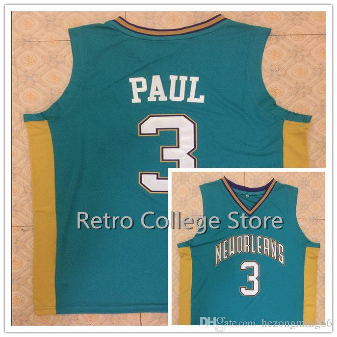 buy online 531c9 57541 real chris paul new orleans jersey 9a234 c059e