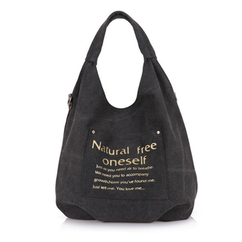 diseño atemporal 9647f ee1c0 New 2018 Canvas Bag Vintage Canvas Shoulder Bag Women Handbags Ladies Tote  Casual Female Bolsos Mujer Hobos Bolsas Feminina Hobo Definition Handbags  ...