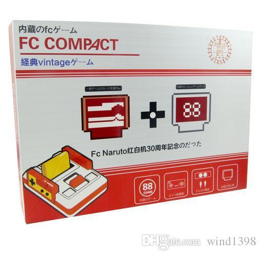 Best sales RS-35 CoolBady Video Game Console FC Red White Classic Family Game Machine TV Game Consoles Yellow Card Plug-in Card Games Juego