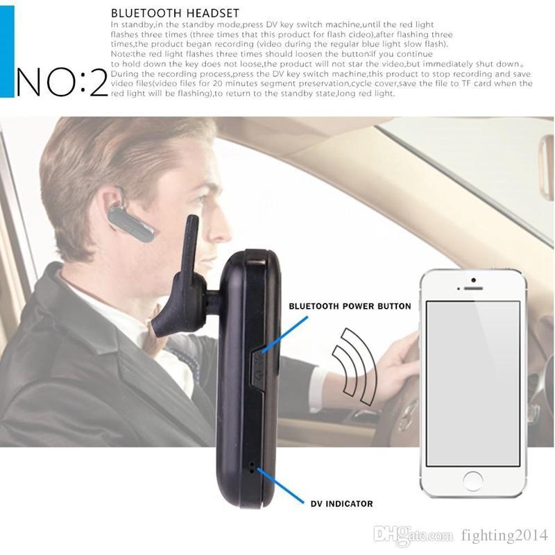 1080P Bluetooth Earphone DVR Full HD Wireless Bluetooth Headset Earphone camera Video Recorder 1080P Mini Earphone camera M1