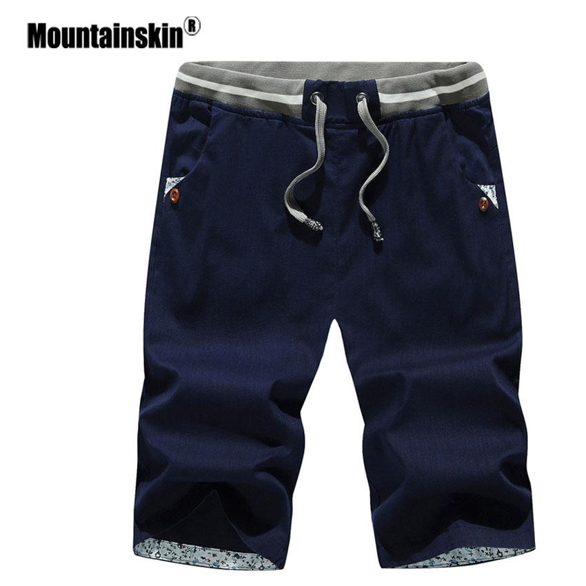 44fb284788 Mountainskin 4XL Men's Summer Shorts Beach Shorts Mens Cotton Casual ...
