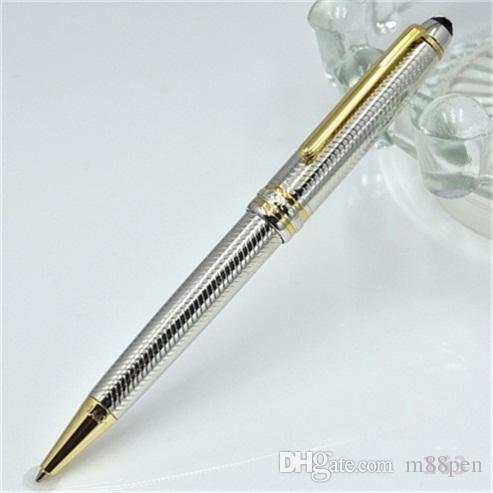 Precio al por mayor de alta calidad bolígrafo MONTE-163 con número de serie papelería de oficina de lujo Plumas de recarga de regalo