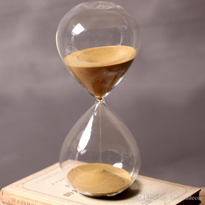 Compre 60 Minutos Tiempo De Reloj De Arena Altura 24 Cm Regalo