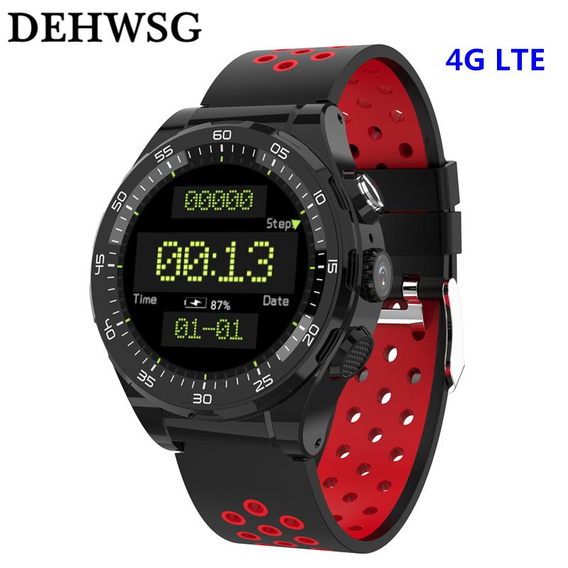 DEHWSG Smart Watch Android 6.0 4G WiFi GPS Watch Phone Waterproof Camera SIM Card Slot Smartwatch 1GB+8GB MP3 MP4 Women Men Gift
