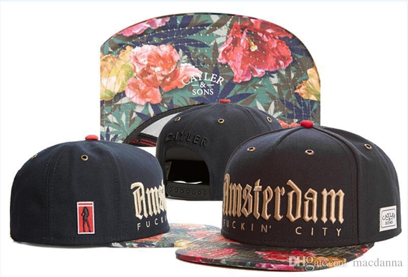 Hot selling hot style snapback caps hater snapbacks hiphop sport hats hip hop caylor sons good life roses SNAPBACK hats