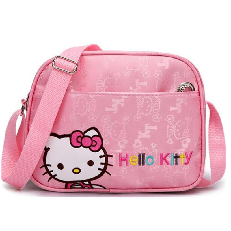 9661a08e5f1f Cute Mini Crossbody Bag Children Hello Kitty Handbag For Women Cartoon Cat  Waterproof Shoulder Bag Kids Girls Messenger Bags Hiking Backpacks Small  Backpack ...