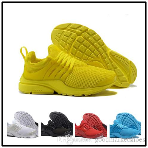 bba8fe1e9113 2018 Black White Yellow Red Mens Shoes Sneakers Women Running Shoes Hot Men  Sports Shoe Walking Designer Shoes Running Shoes Online with  100.0 Piece  on ...