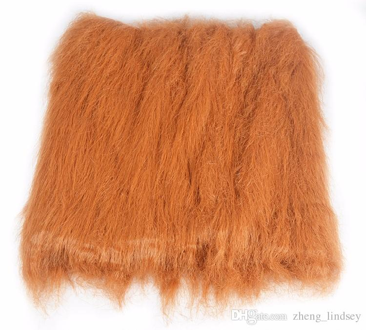 High Quality Pet Hair Accessories Pet Costume Cat Halloween Clothes Fancy Dress Up Lion Mane Wig For Dogs Festival Dress Up