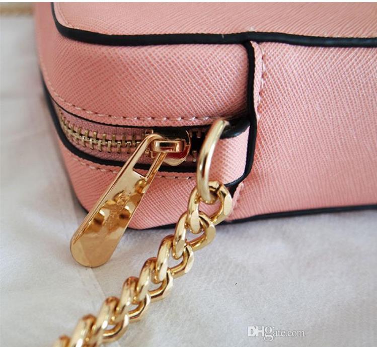 2017 nuevo bolso Messenger Bag Mini bolso de cadena de moda mujer estrella favorito pequeño paquete perfecto