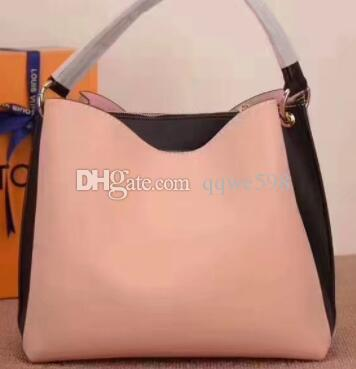 d717d4e2e865 2018 Hot Sell Newest Famous Designer Bags Women Leather Handbags Shopping  Shoulder Bagstote bag It s really leather.