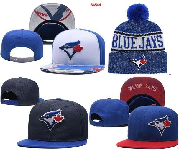 2847c170eca 2019 Blue Jays Hat Snapback Cap Champions Blue Jays Beanie All Teams Men  Women Knitted Beanies Wool Hat Knit Bonnet Beanie Gorro Winter Cap Canada  2019 From ...