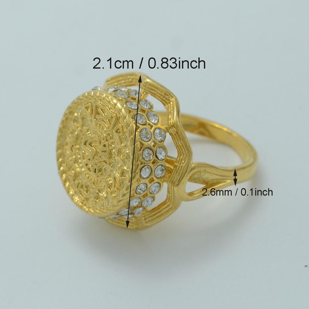 Großhandel Ring Anniyo Arab Münze Ring Für Frauen Mittlerer Osten