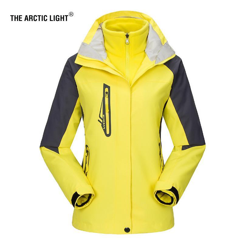 c3d88885c674 THE ARCTIC LIGHT New Women ski Jackets Outdoor Hiking Trekking Warm  Snowboard Coat Waterproof Snow Jacket Sportswear Winter